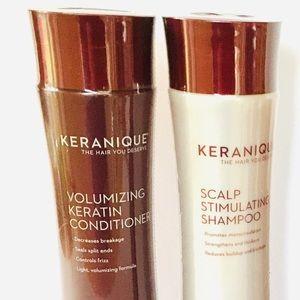 Keranique Revitalizing Shampoo and Conditioner New